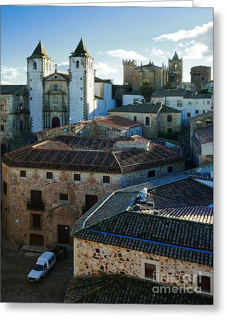 Extremadura Greeting Cards - Caceres Spain 5 Greeting Card by Rudi Prott