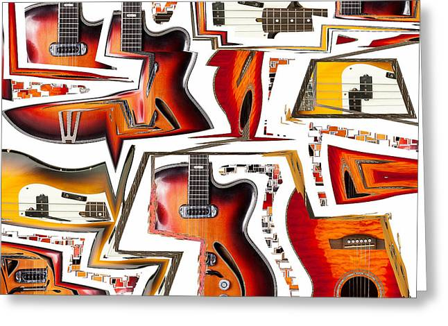 Cacophony Greeting Card by Russell Pierce
