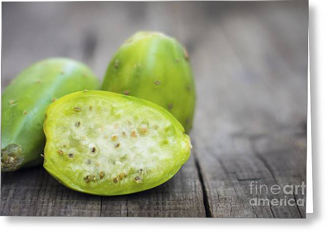 Produce Greeting Cards - Cactus Fruit Greeting Card by Aged Pixel
