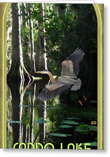 """caddo Lake"" Greeting Cards - Caddo Lake State Park Greeting Card by Jim Sanders"