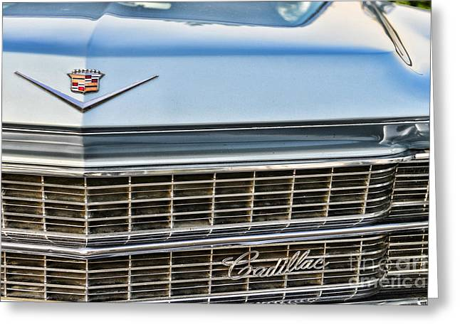 Caddy Greeting Cards - Caddy Grill Greeting Card by Paul Ward