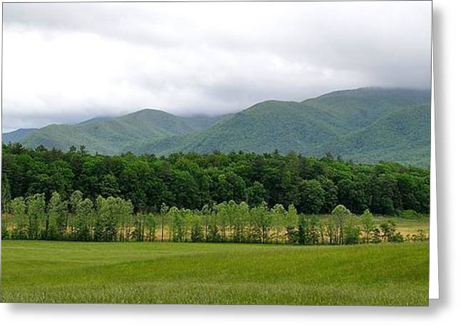 Tn Greeting Cards - Cades Cove Mountains Greeting Card by Todd Hostetter