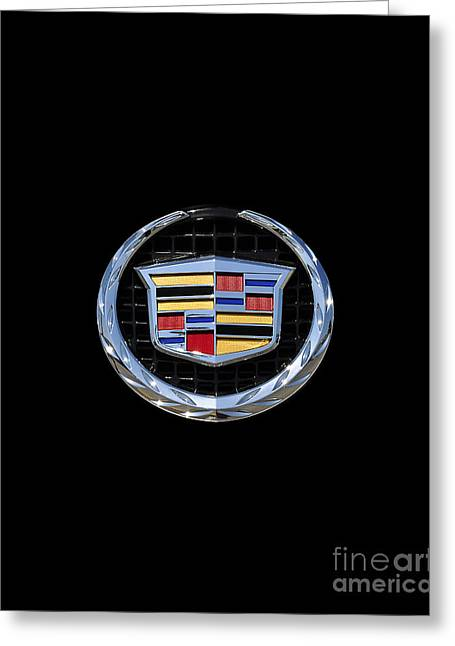 Fine Art Posters Greeting Cards - Cadillac Chrome Greeting Card by Al Powell Photography USA