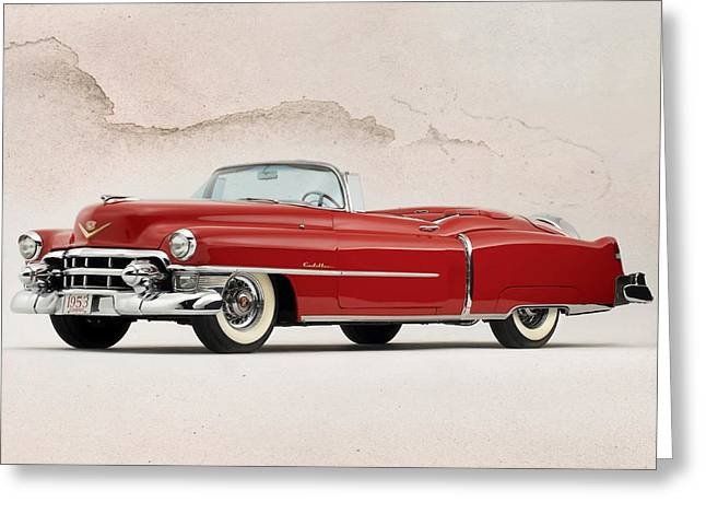 Wire Wheels Greeting Cards - Cadillac Eldorado Greeting Card by Peter Chilelli