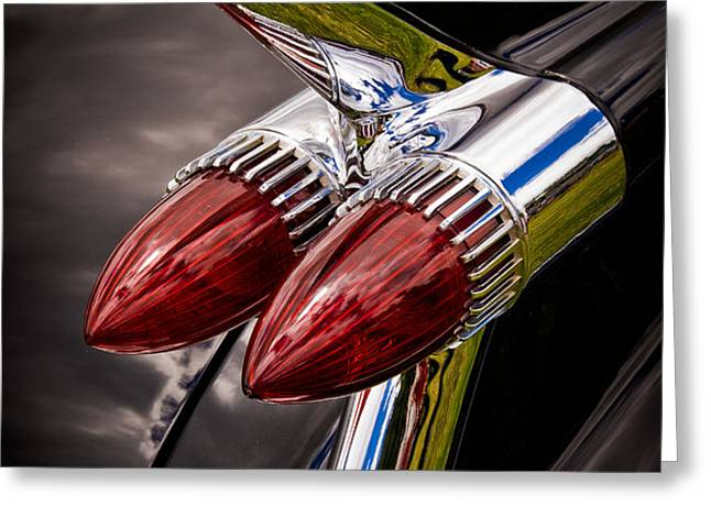 Cadillac Fin Greeting Card by Phil 'motography' Clark