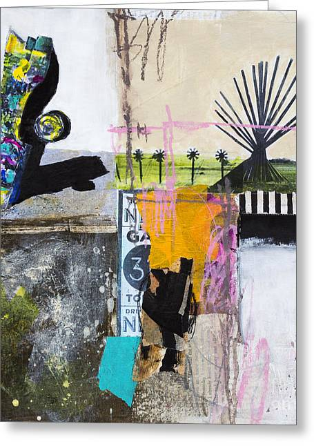 Installation Art Mixed Media Greeting Cards - Cadillac ranch Greeting Card by Elena Nosyreva