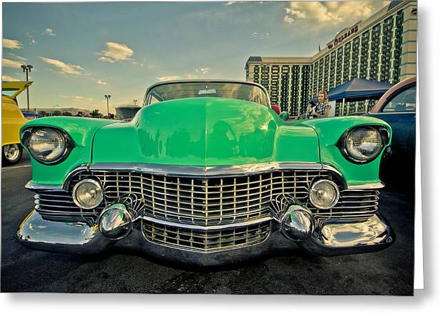 Caddy Greeting Cards - Cadillac Style  Greeting Card by Merrick Imagery
