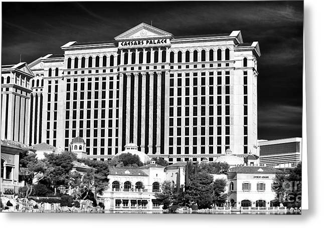 Caesars Palace Greeting Cards - Caesars Greeting Card by John Rizzuto