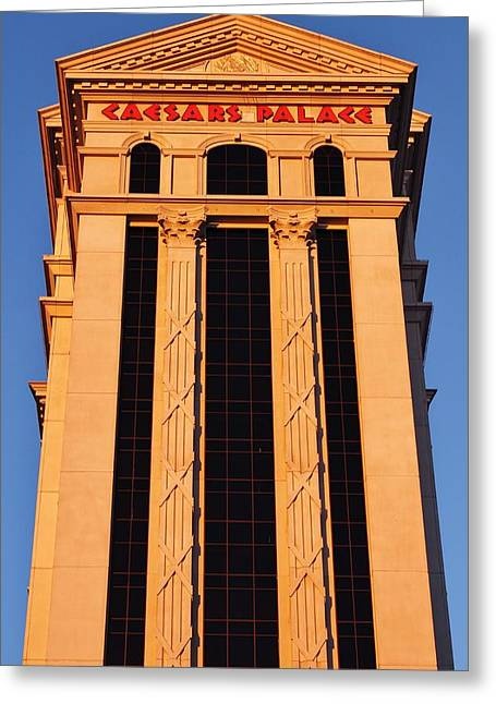 Greek Columns Greeting Cards - Caesers Greeting Card by Benjamin Yeager