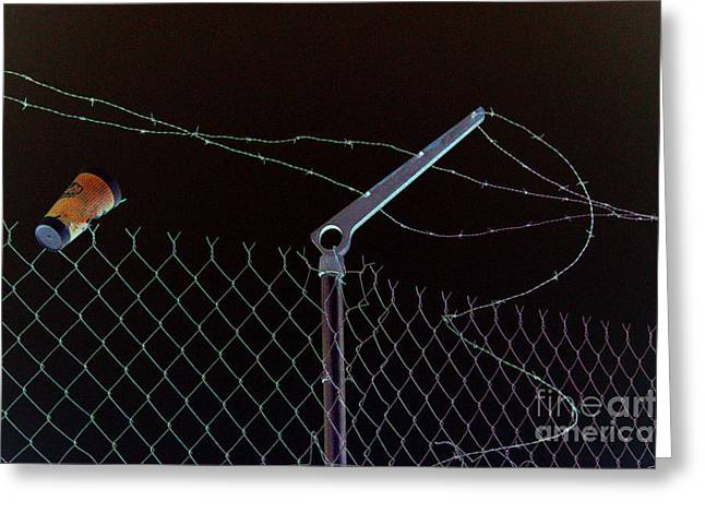 Caffeinated Jail Break Greeting Card by Joe Jake Pratt