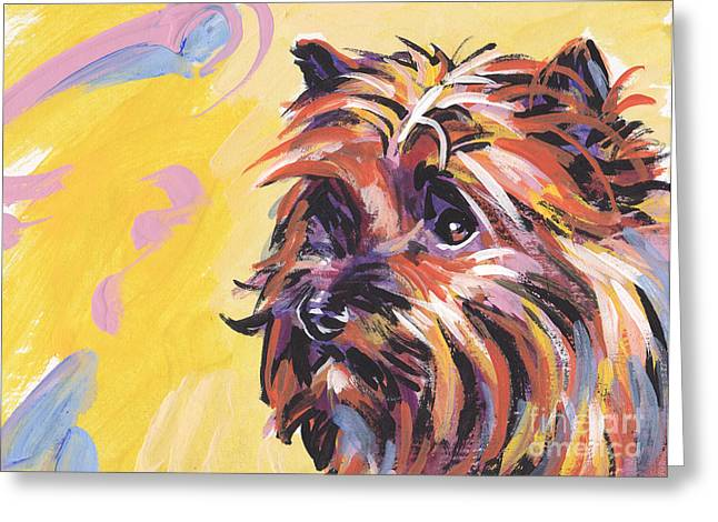 Cairn Terrier Greeting Cards - Cairn Cutie Greeting Card by Lea