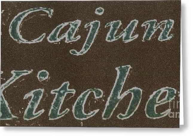 Daiquiri Greeting Cards - Cajun Kitchen Greeting Card by Joseph Baril