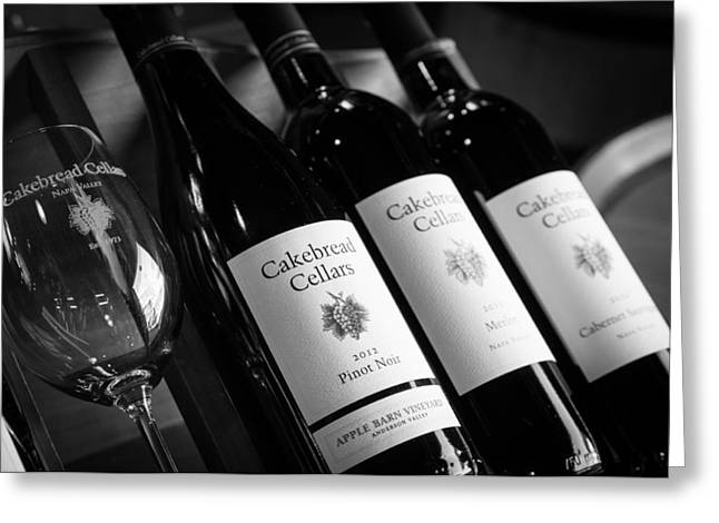 Cakebread Chardonnay Greeting Cards - Cakebread Cellars Greeting Card by Peak Photography by Clint Easley