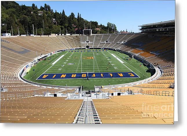 Ucb Greeting Cards - Cal Golden Bears California Memorial Stadium Berkeley California 5D24682 Greeting Card by Wingsdomain Art and Photography
