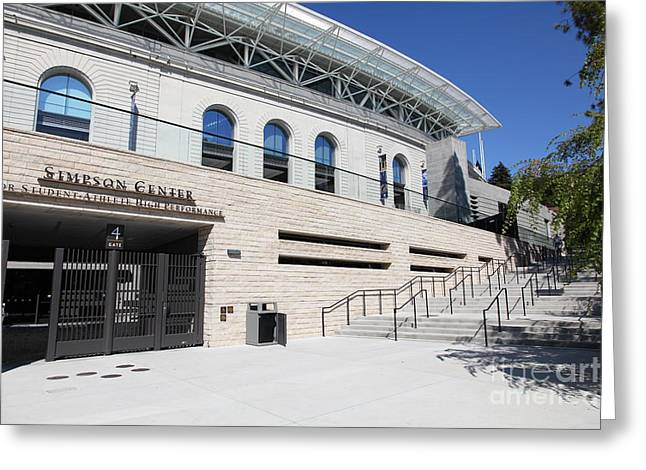 Uc California Greeting Cards - Cal Golden Bears California Memorial Stadium Berkeley California 5D24751 Greeting Card by Wingsdomain Art and Photography