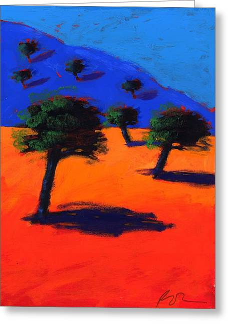 Mediterranean Landscape Photographs Greeting Cards - Cala Lena, 2007 Acrylic On Board Greeting Card by Paul Powis