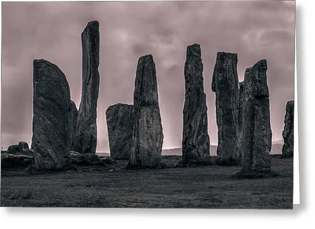 Still Standing Greeting Cards - Calanais Greeting Card by Matt  Trimble