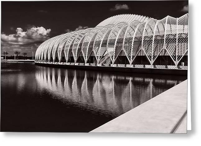 Technical Photographs Greeting Cards - Calatrava 7 Greeting Card by Gordon Engebretson