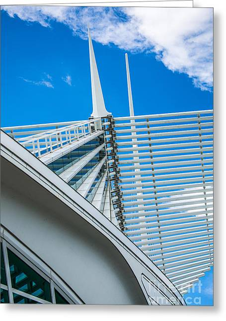 Art Museum Greeting Cards - Calatrava Point Greeting Card by Andrew Slater