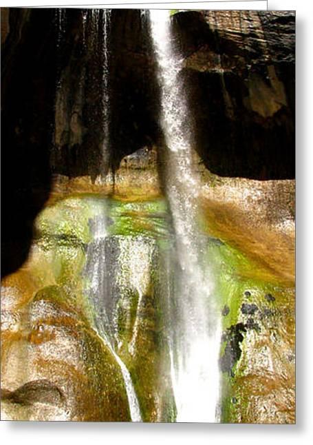 Southern Utah Greeting Cards - Calf Creek Falls Utah Greeting Card by Matt Dalsing