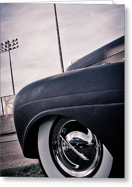 Kustom Greeting Cards - Cali Ride Greeting Card by Merrick Imagery