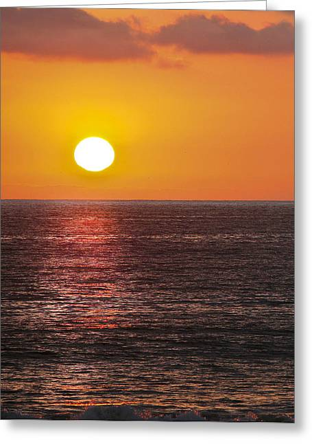 Pacific Ocean Prints Greeting Cards - Caliente State Beach   Greeting Card by Gilbert Artiaga