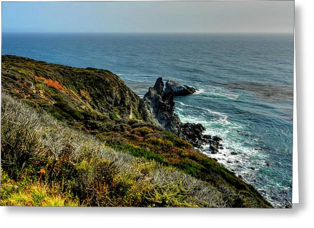 Santa Lucia Mountains Greeting Cards - California - Big Sur 005 Greeting Card by Lance Vaughn