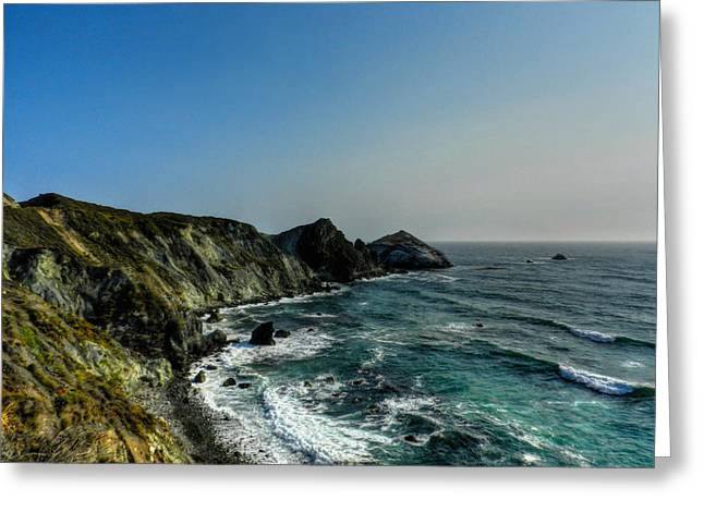 Santa Lucia Mountains Greeting Cards - California - Big Sur 008 Greeting Card by Lance Vaughn