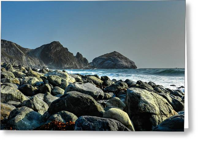 Santa Lucia Mountains Greeting Cards - California - Big Sur 012 Greeting Card by Lance Vaughn