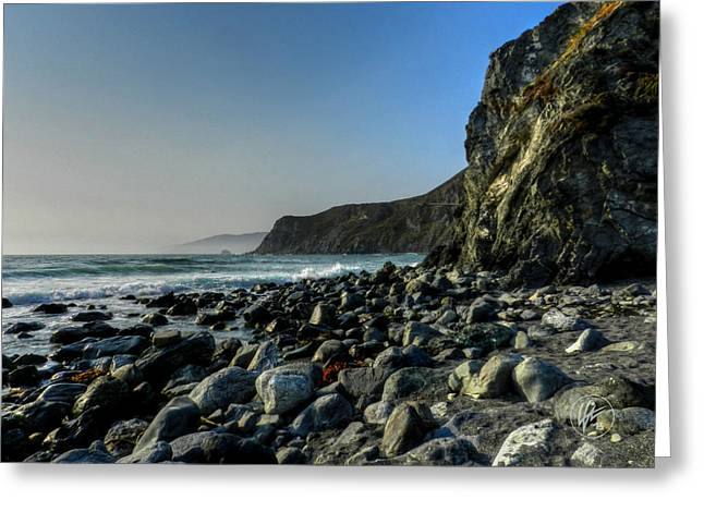 Santa Lucia Mountains Greeting Cards - California - Big Sur 014 Greeting Card by Lance Vaughn