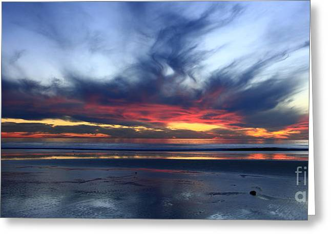 Beach Photography Greeting Cards - California Blue Greeting Card by John Tsumas