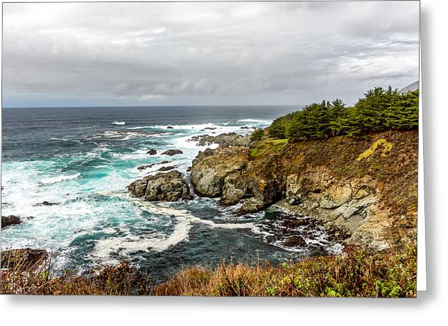 Beaches In Monterey Greeting Cards - California Central Coast at Big Sur Greeting Card by Ken Wolter