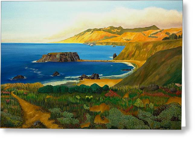 Tasting Rooms California Greeting Cards - California Changes Everything Greeting Card by Joe Ballone