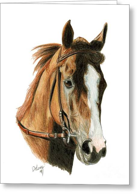 Chrome Paintings Greeting Cards - California Chrome 2 Greeting Card by Pat DeLong