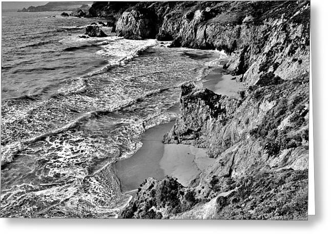 Big Sur Beach Greeting Cards - California Coast Greeting Card by Benjamin Yeager