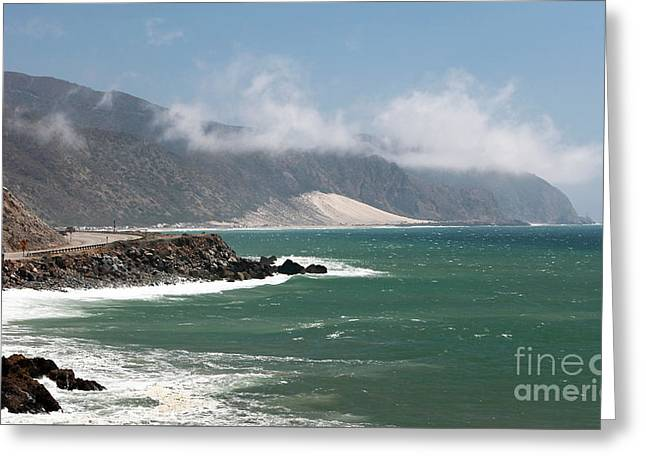 California Contemporary Gallery Greeting Cards - California Coast Greeting Card by John Rizzuto