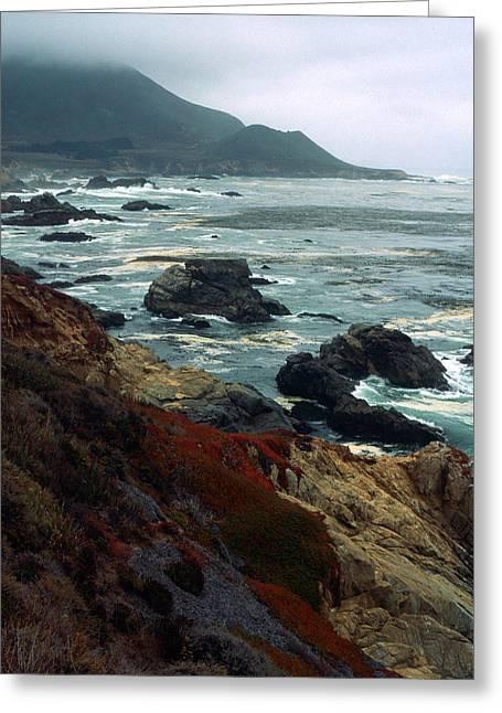 Kathy Yates Photography. Greeting Cards - California Coast Greeting Card by Kathy Yates