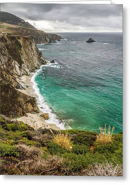 Big Sur Beach Greeting Cards - California coast Greeting Card by Pierre Leclerc Photography