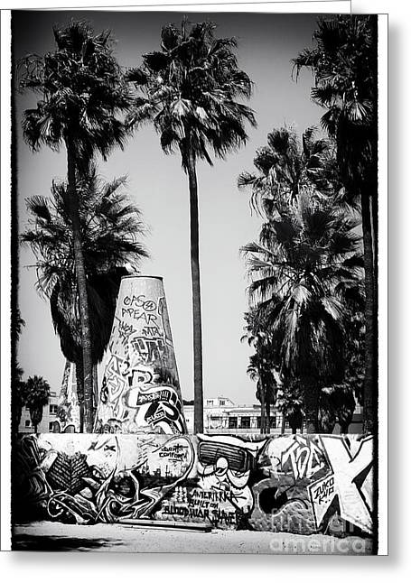 Recently Sold -  - California Beach Art Greeting Cards - California Cool Greeting Card by John Rizzuto