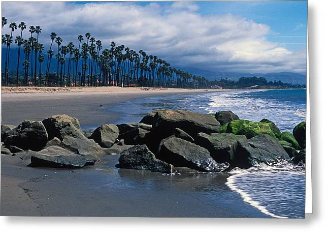 Ocean Framed Prints Greeting Cards - California Dreamin Greeting Card by Kathy Yates