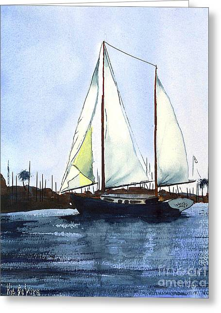 Dingy Greeting Cards - California Dreamin Greeting Card by Kip DeVore