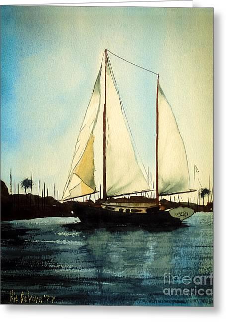 Seaside Digital Art Greeting Cards - California Dreamin V Greeting Card by Kip DeVore