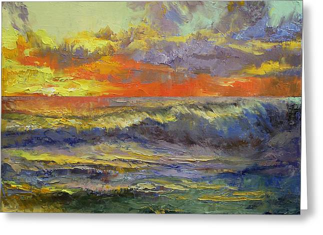 California Dreaming Greeting Card by Michael Creese