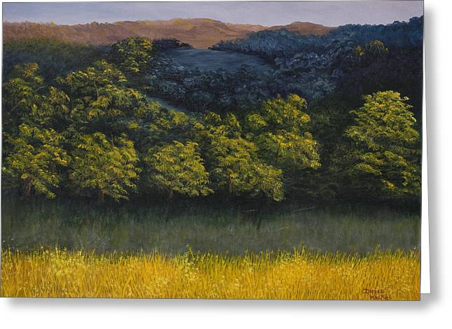 Northern California Landscapes Greeting Cards - California Foothills Greeting Card by Darice Machel McGuire