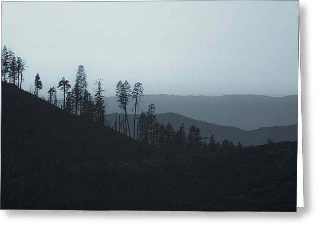 Office Space Greeting Cards - California Gray Skies Greeting Card by Bryant Coffey