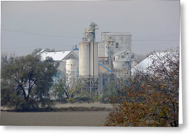 Colusa Greeting Cards - California Rice Mill  Greeting Card by Pamela Patch