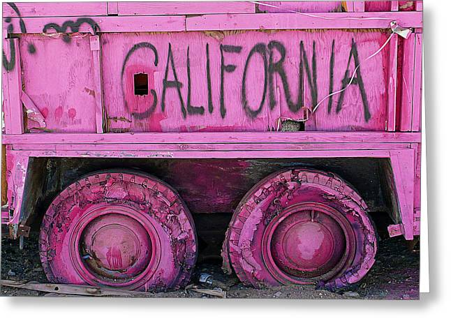 California Greeting Card by Ron Regalado