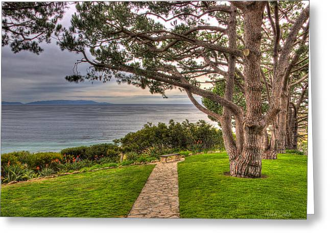 Palos Verdes Cove Greeting Cards - California Tranquility Greeting Card by Heidi Smith