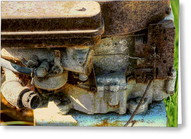 Yardwork Greeting Cards - Call Me Rusty Greeting Card by Michael Braham