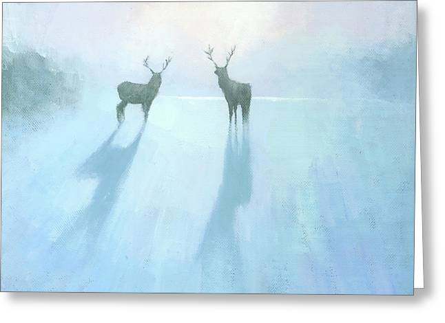 Call Of The Arctic Greeting Card by Steve Mitchell